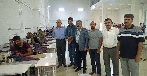 Başkan Karaduman, Van tekstil kent esnafını ziyaret etti