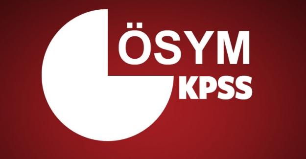 DİKKAT! KPSS Ortaöğretim ve Önlisans başvuru güncelleme için son gün!