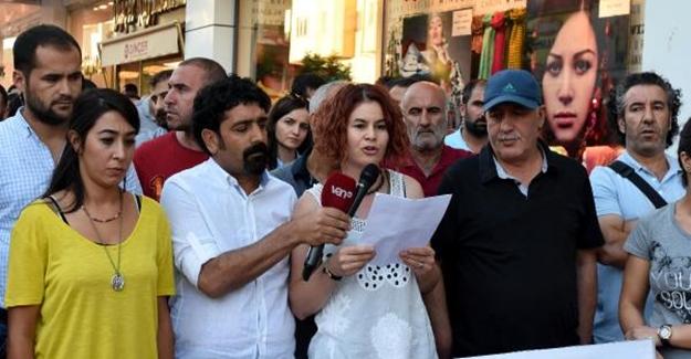 Eğitim-Sen'den ihraçlara basın açıklamasıyla protesto