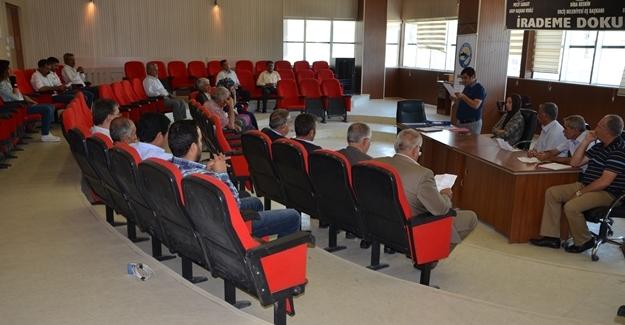 Erciş Belediyesi Eylül ayı meclis toplantısı