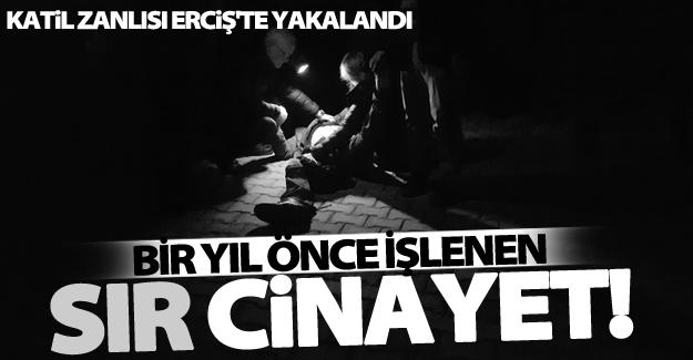 Erciş'te cinayet zanlısı çatı katında yakayı eleverdi!