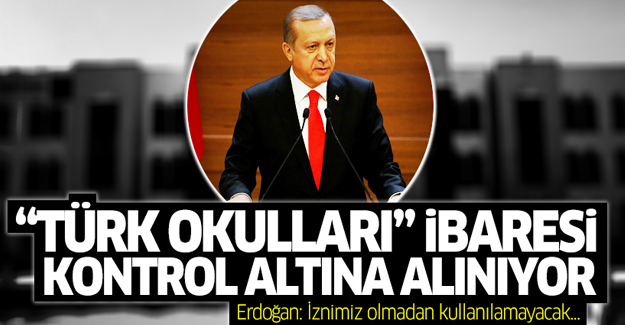 Erdoğan: 'Türk' ünvanı bilgimiz dışında kullanılamayacak'