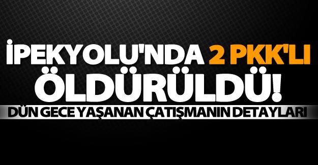 İpekyolu'nda eylem hazırlığı'nda olan 2 PKK'lı öldürüldü