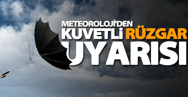 Meteoroloji'den Van'da kuvvetli rüzgar uyarısı!