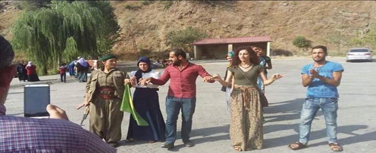 PKK'lılarla halay çeken 8 kişiyle ilgili karar verildi