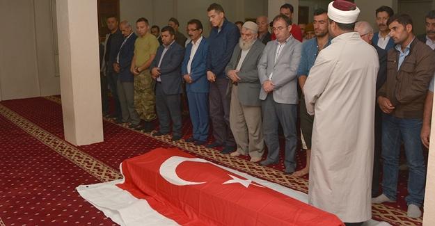 PKK'lıların şehit ettiği koruyucu defnedildi