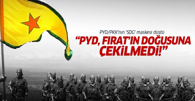 'PYD Fırat'ın doğusuna çekilmedi'