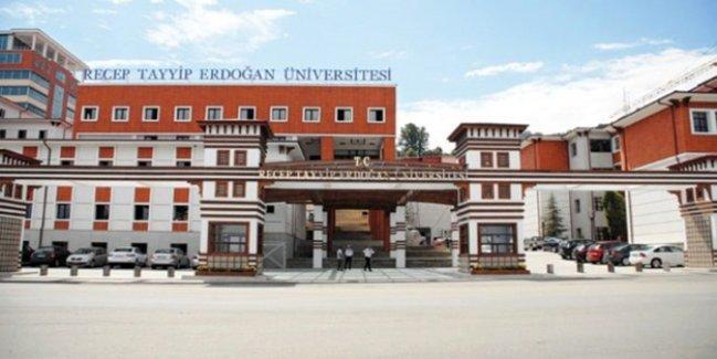 Recep Tayyip Erdoğan Üniversitesi'nden ihraç edilen personel listesi