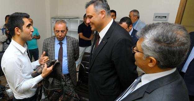 TÜBİTAK Genel Başkanı Ergin Van'da