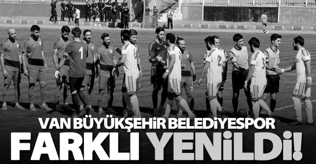 Van Büyükşehir Belediyespor farklı yenildi!