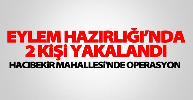 Van'da eylem hazırlığı'nda 2 PKK mensubu yakalandı