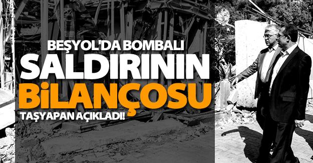 Van valisi açıkladı! Bombalı saldırının ağır bilançosu