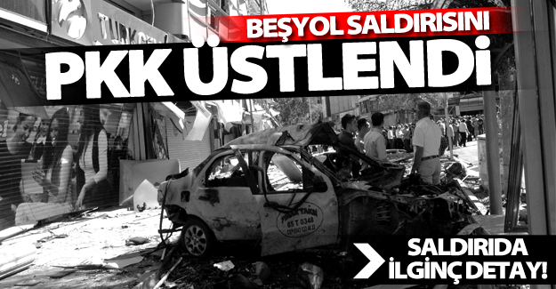 Van'daki bombalı saldırıyı PKK üstlendi! Saldırıda ilginç detay