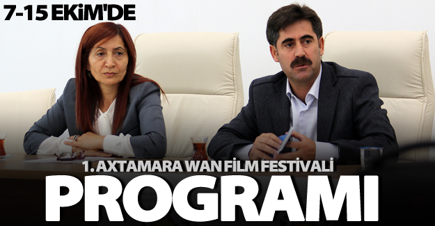 1. Axtamara Wan Film Festivali'nin programı açıklandı