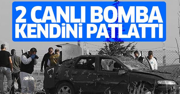 2 canlı bomba operasyonda kendilerini patlattı