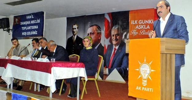 AK Parti daraltılmış danışma meclisi toplantısı gerçekleştirildi