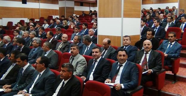 Erciş'te Okul Müdürleri Kurulu Toplantısı