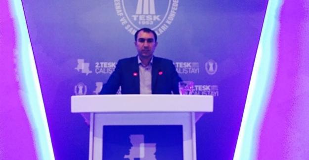Esnaf Odası Başkanı Berge 2. TESK çalıştayına katıldı