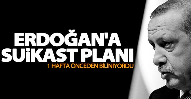 Gizli tanık konuştu: Erdoğan'a suikast planı
