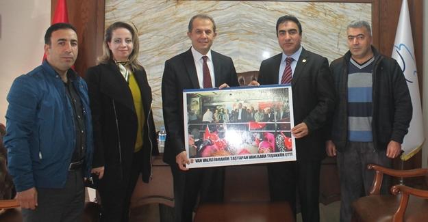 ABB heyetinden Vali Taşyapan'a ziyaret