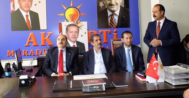 AK Parti Kartal heyetinden Muradiye'ye ziyaret