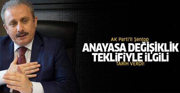 AK Parti, yeni Anayasa için tarih verdi!