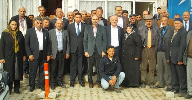 AK Partili Aygün'den Özalp ve Saray'a ziyaret