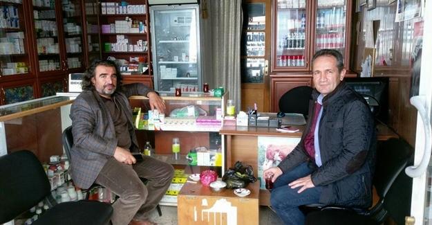 Başkan Aslan'dan veteriner hekimlere ziyaret
