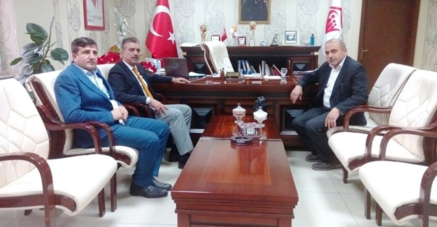 Başkan Erdemir'den Müdür Koç'a ziyaret