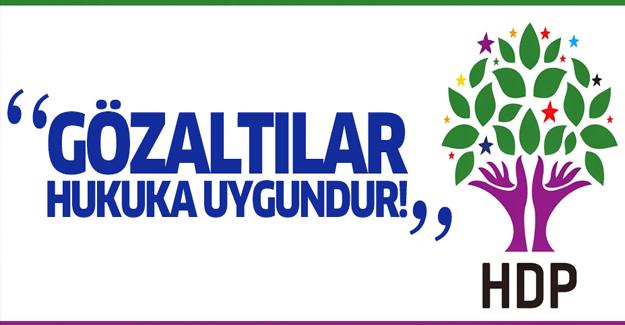 Bozdağ'dan HDP Operasyonu'na ilk yorum