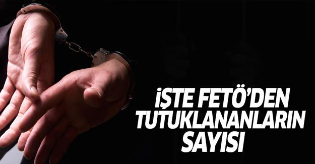 Bozdağ, FETÖ'den tutuklananların sayısını açıkladı