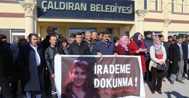 Çaldıran'da Eşbaşkan Atabay'ın tutuklanması Protesto edildi