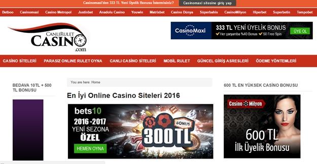 Canlı Casino İle Gerçek Casino Keyfi Artık Evinizde
