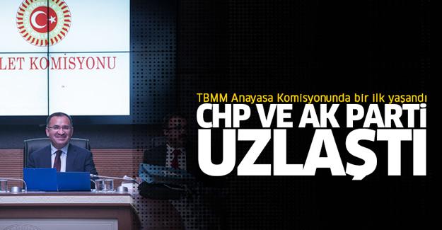 CHP'nin önergesine AK Parti'den destek