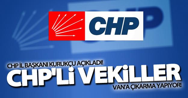 CHP'li vekiller Van'a geliyor