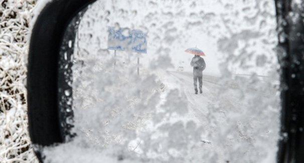 Çok kuvvetli kar yağışı son hava durumu raporu kötü