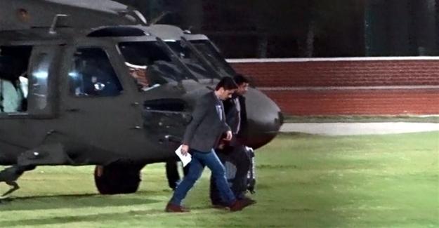 Demirtaş polis helikopteriyle nereye götürüldü?