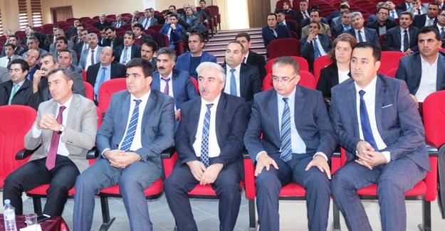 Erciş'te akademik başarıyı artırma toplantısı
