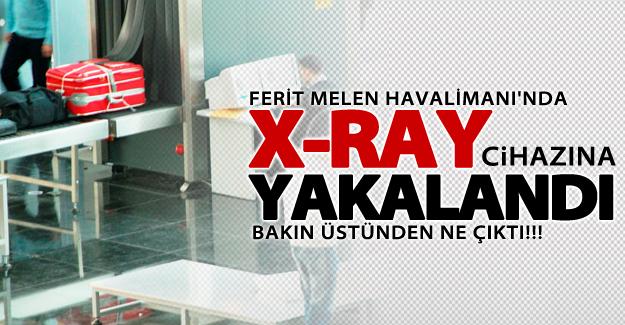 Ferit Melen Havalimanı'nda X-Ray cihazına yakalandı! Üstünden bakın ne çıktı