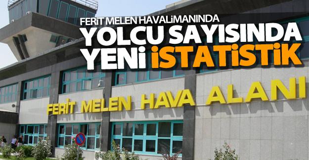 Ferit Melen Havalimanında yolcu sayısı arttı