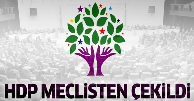 HDP, Meclis çalışmalarına katılmayacak