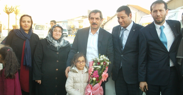 Kartal İlçe Başkanı Mehdi Akman'dan Özalp'a ziyaret