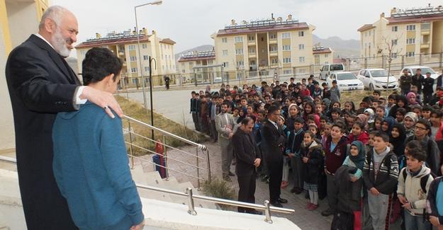 Müftü Arvas'tan okul ziyareti