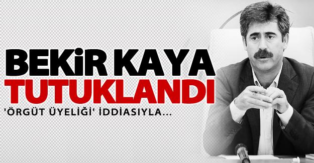 SON DAKİKA! Belediye Başkanı Bekir Kaya tutuklandı
