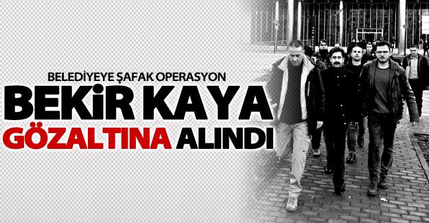 Van Büyükşehir Belediye Başkanı Bekir Kaya gözaltına alındı