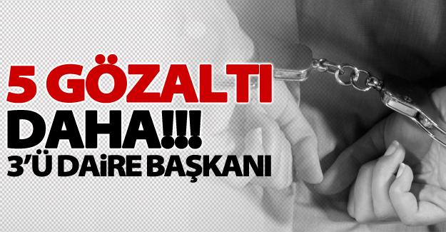 Van Büyükşehir Belediyesi'nde 3'ü daire başkanı 5 gözaltı daha!