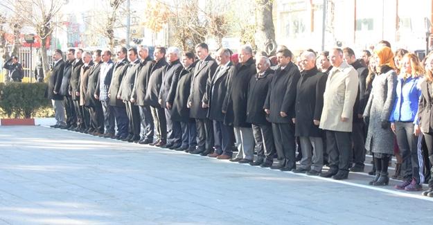 Van'da 24 Kasım öğretmenler günü kutlandı