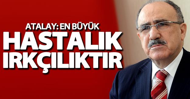 """Van Milletvekili Atalay: """"En büyük hastalık ırkçılıktır"""""""
