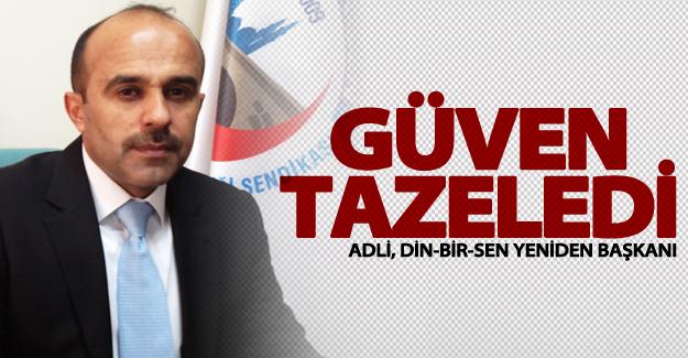 Yusuf Adli, Din-Bir-Sen yönetimine yeniden seçildi