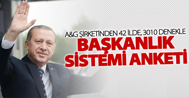 Adil Gür'den başkanlık sistemi anketi